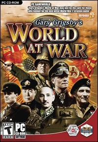 Caratula de Gary Grigsby's World at War para PC