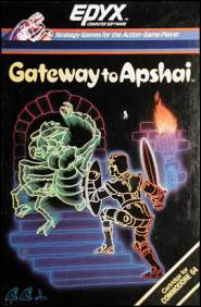 Caratula de Gateway to Apshai para Commodore 64