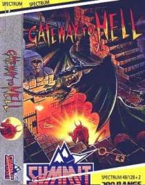 Caratula de Gateway to Hell para Spectrum