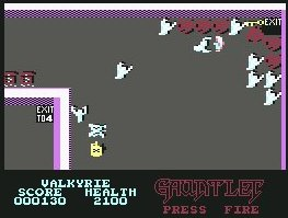 Pantallazo de Gauntlet - The Deeper Dungeons para Commodore 64