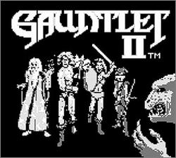 Pantallazo de Gauntlet II para Game Boy
