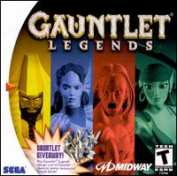 Caratula de Gauntlet Legends para Dreamcast