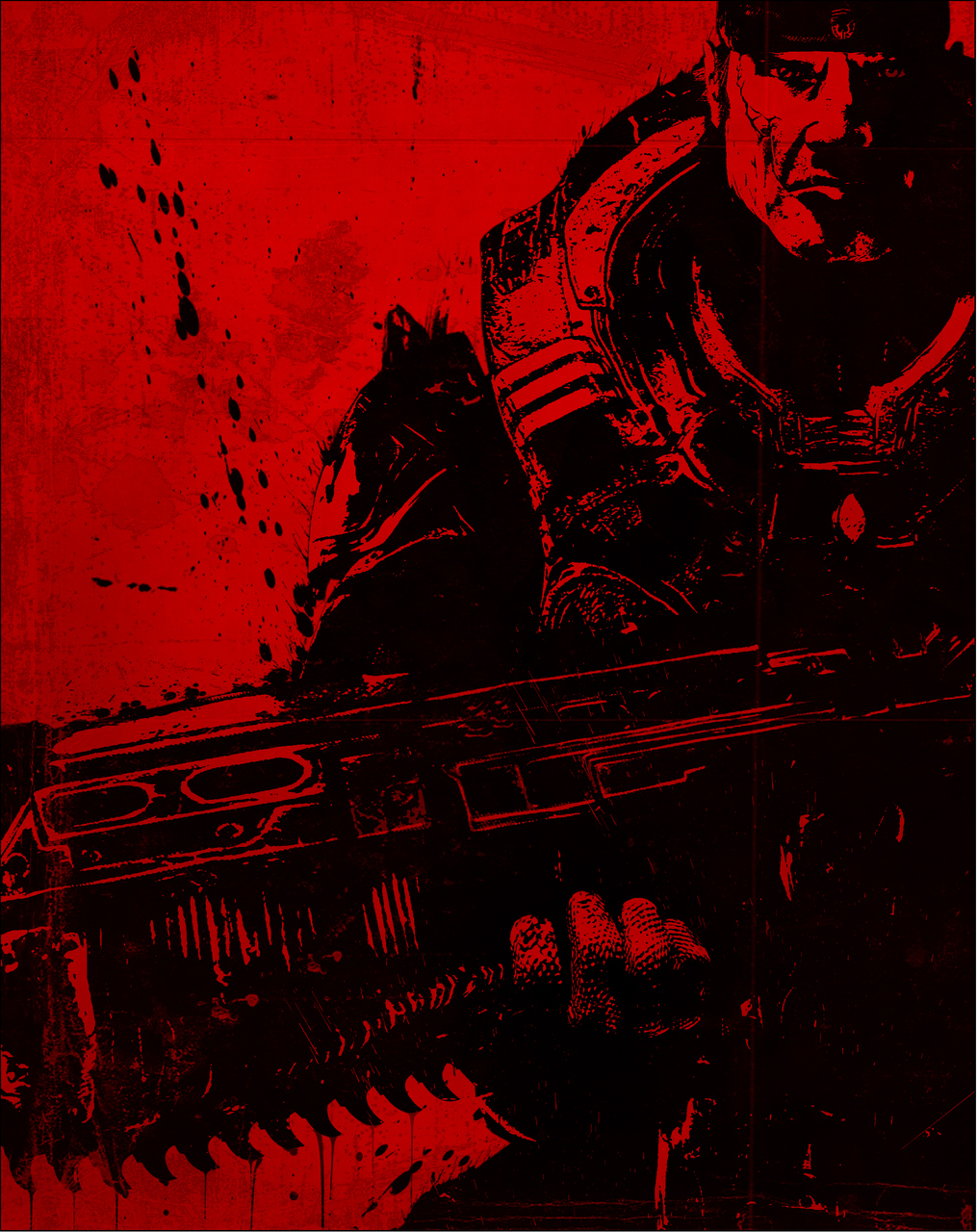 Gameart de Gears of War 2 para Xbox 360