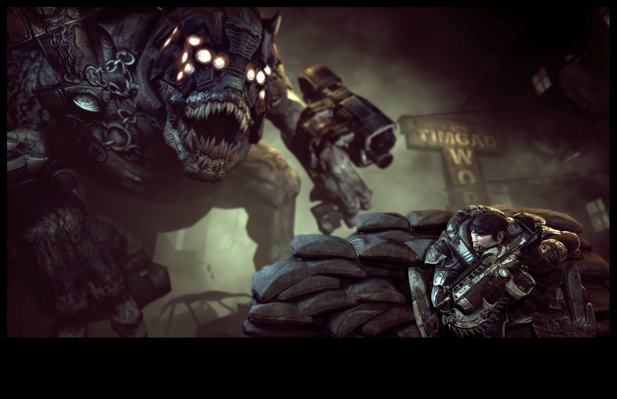 Pantallazo de Gears of War para PC