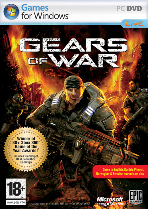 Caratula de Gears of War para PC