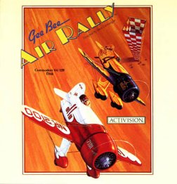 Caratula de Gee Bee Air Rally para Commodore 64