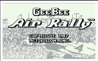Pantallazo de Gee Bee Air Rally para Commodore 64