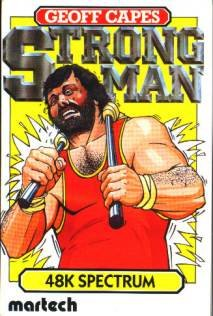 Caratula de Geoff Capes Strong Man para Spectrum