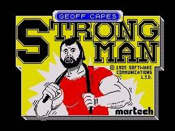 Pantallazo de Geoff Capes Strong Man para Spectrum