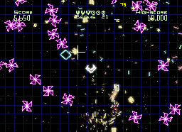 Pantallazo de Geometry Wars : Galaxies para Nintendo DS
