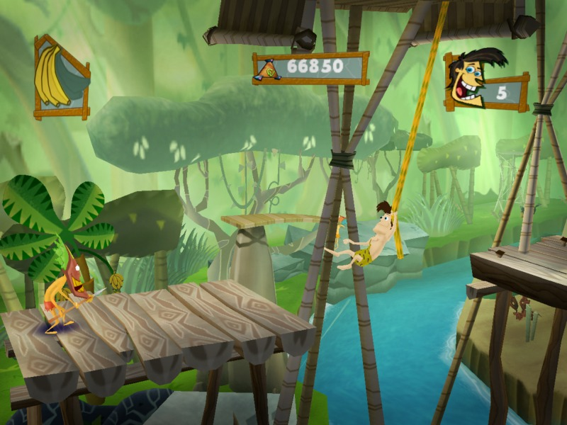 Pantallazo de George of The Jungle para PlayStation 2