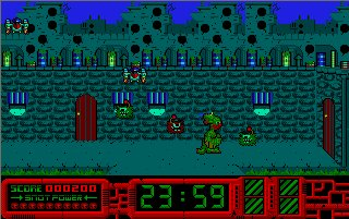 Pantallazo de Gilbert: Escape from Drill para Atari ST
