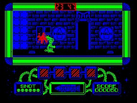 Pantallazo de Gilbert Escape From Drill para Amstrad CPC