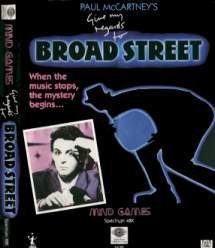 Caratula de Give My Regards to Broad Street para Spectrum