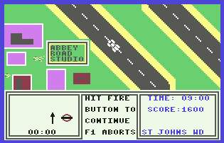 Pantallazo de Give my Regards to Broad Street para Commodore 64
