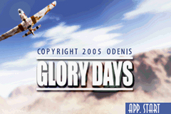 Pantallazo de Glory Days – The Essence Of  War para Game Boy Advance