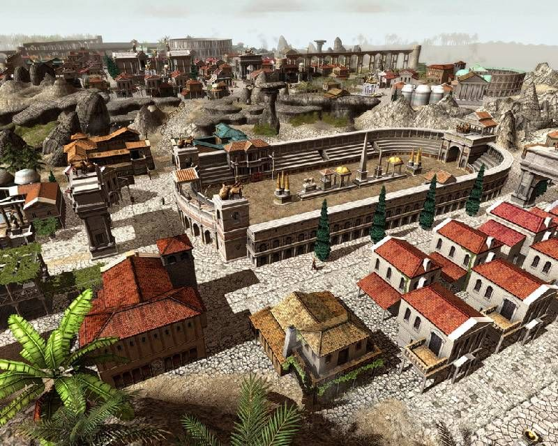Pantallazo de Glory of the Roman Empire 2 para PC