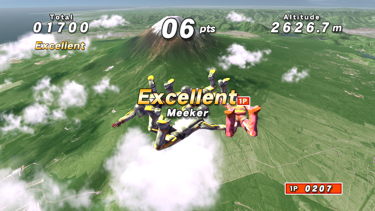 Pantallazo de Go! Sports Sky Diving para PlayStation 3