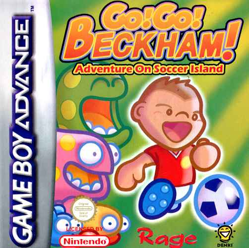 Caratula de Go Go Beckham - Adventure on Soccer Island para Game Boy Advance