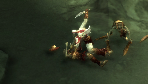 Pantallazo de God of War: Chains of Olympus para PSP