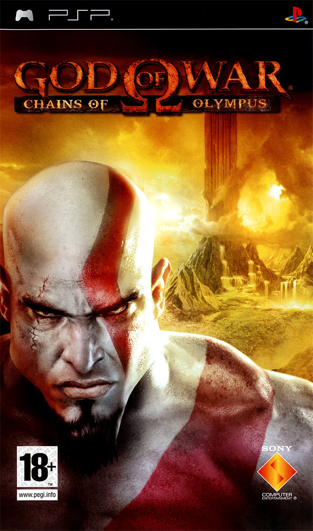 Caratula de God of War: Chains of Olympus para PSP