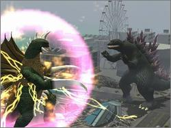 Pantallazo de Godzilla: Destroy All Monsters Melee para GameCube