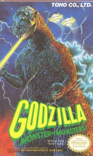 Caratula de Godzilla: Monster of Monsters! para Nintendo (NES)