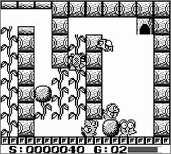 Pantallazo de Gojira Junior para Game Boy