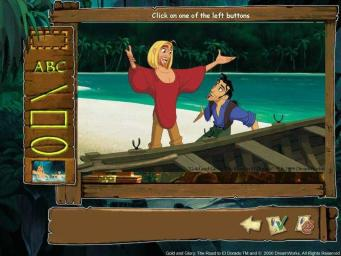 Pantallazo de Gold And Glory: The Road To El Dorado Creativity Centre para PC