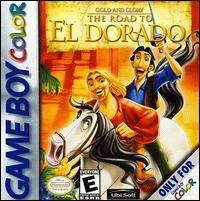 Caratula de Gold and Glory: The Road to El Dorado para Game Boy Color