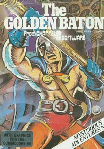 Caratula de Golden Baton, The para Commodore 64