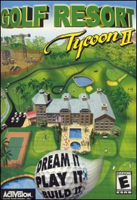 Caratula de Golf Resort Tycoon II para PC