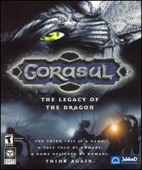 Caratula de Gorasul: The Legacy of the Dragon para PC