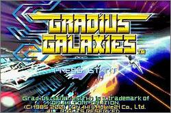Pantallazo de Gradius Galaxies para Game Boy Advance