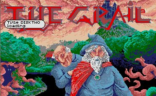 Pantallazo de Grail, The para Atari ST