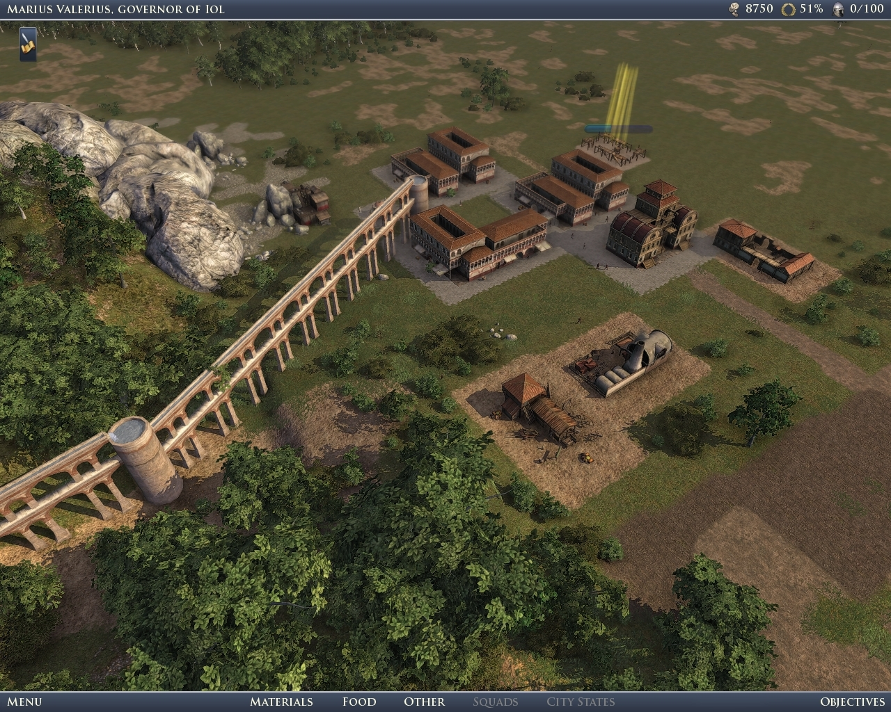 Pantallazo de Grand Ages: Rome para PC