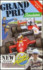 Caratula de Grand Prix Simulator para Commodore 64