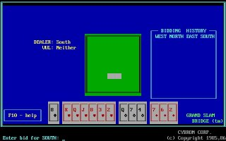 Pantallazo de Grand Slam Bridge para PC