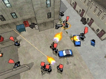 Pantallazo de Grand Theft Auto: Chinatown Wars para Nintendo DS