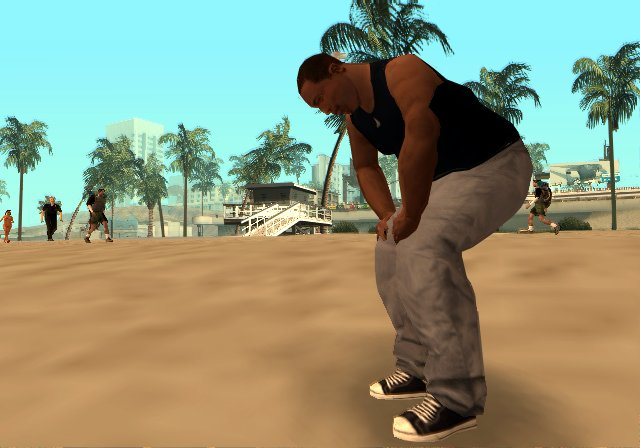 Pantallazo de Grand Theft Auto: San Andreas para PlayStation 2