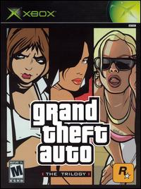 Caratula de Grand Theft Auto: The Trilogy para Xbox