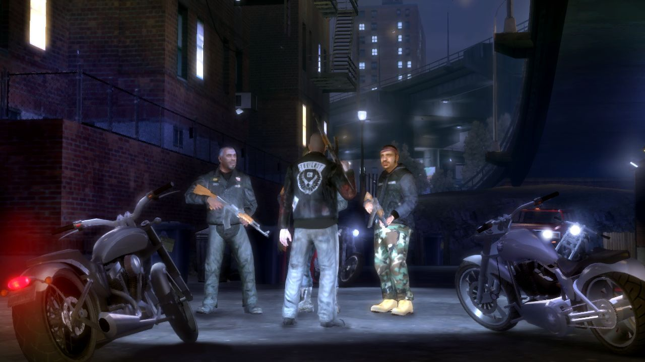 Pantallazo de Grand Theft Auto IV: The Lost and Damned para Xbox 360