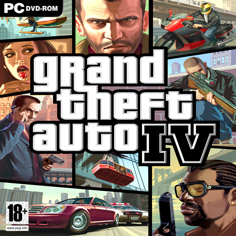 Caratula de Grand Theft Auto IV para PC