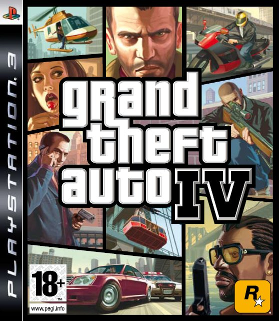 Caratula de Grand Theft Auto IV para PlayStation 3