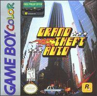Caratula de Grand Theft Auto para Game Boy Color