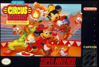 Caratula de Great Circus Mystery starring Mickey and Minnie, The para Super Nintendo