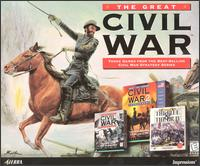 Caratula de Great Civil War, The para PC