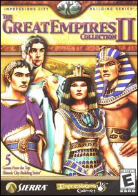 Caratula de Great Empires Collection II, The para PC
