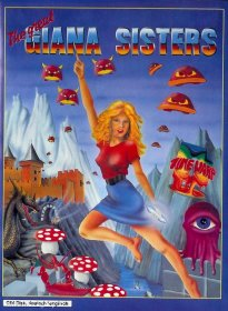 Caratula de Great Giana Sisters, The para Atari ST