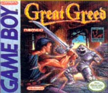 Caratula de Great Greed para Game Boy